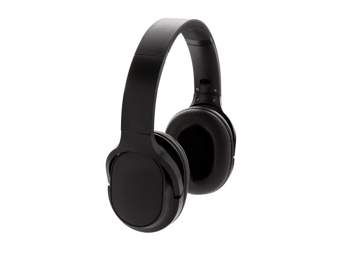 Elite faltbarer kabelloser Kopfhörer schwarz bedrucken, Art.-Nr. P329.131