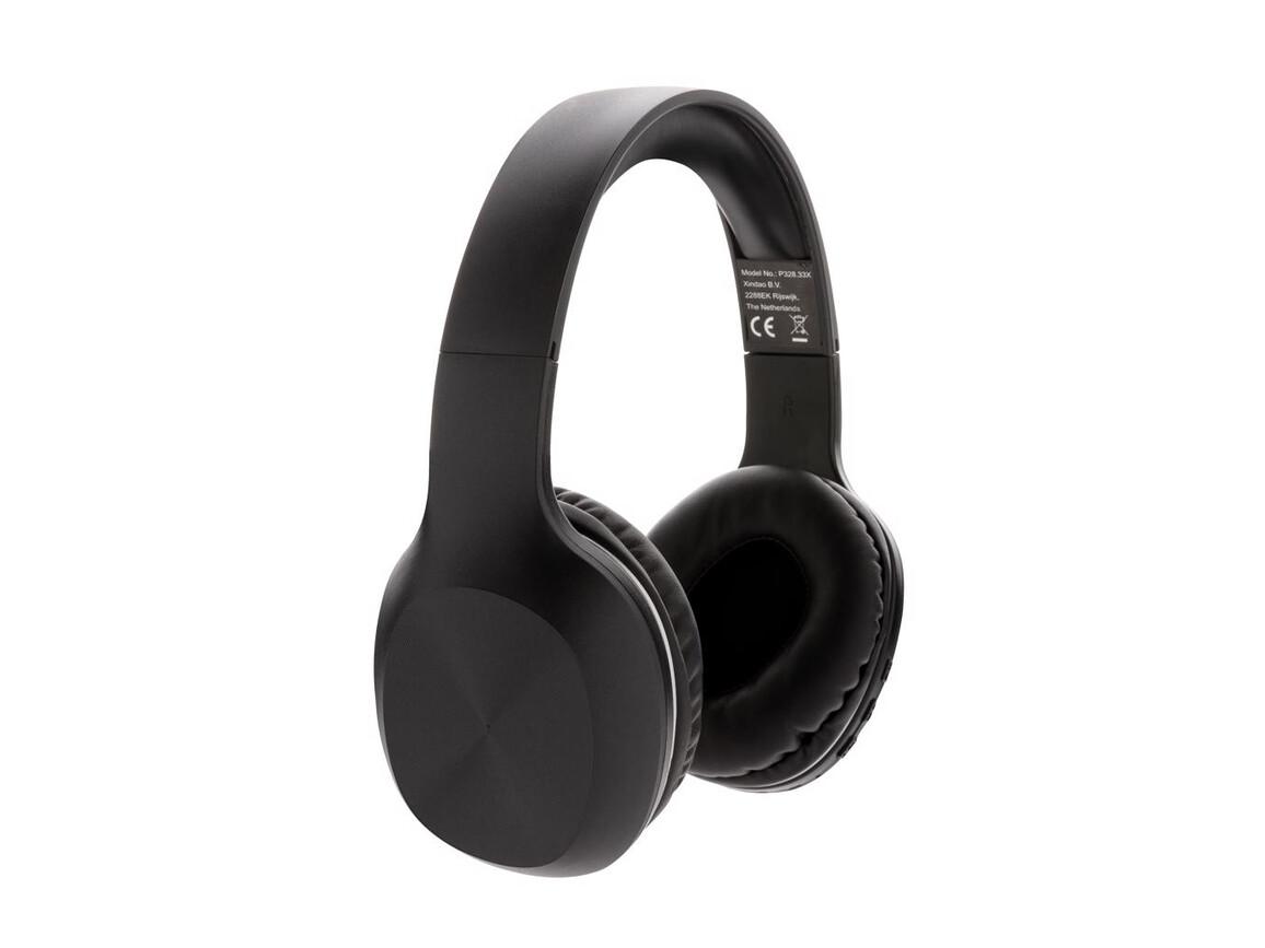 Jam kabelloser Kopfhörer schwarz bedrucken, Art.-Nr. P329.141