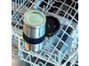 Spülmaschinenfeste Vakuum-Tasse silber bedrucken, Art.-Nr. P432.742