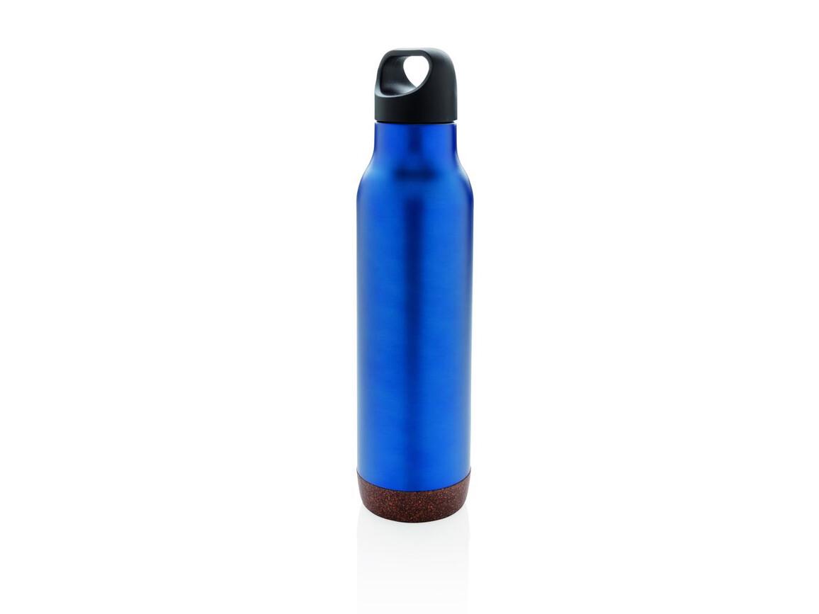 Auslaufsichere Vakuum-Flasche mit Kork bedrucken, Art.-Nr. P433.285