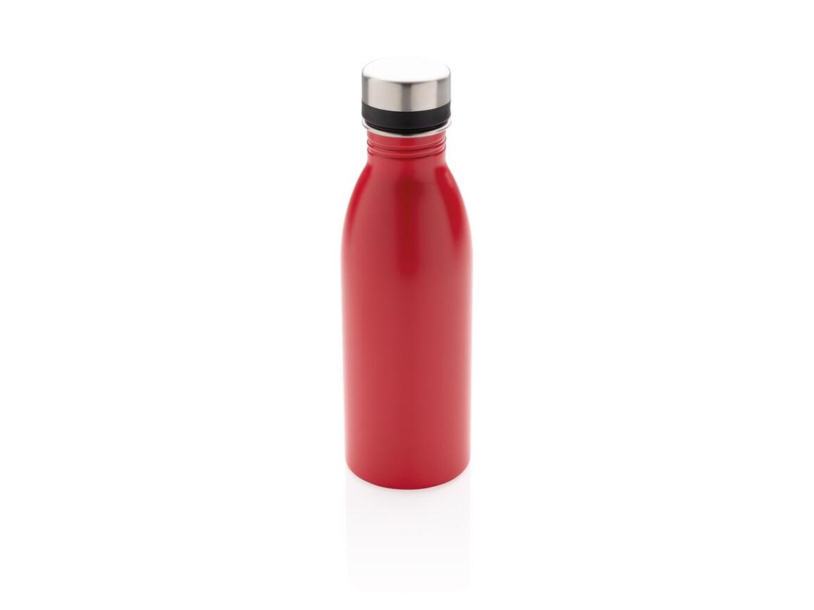 Deluxe Wasserflasche rot bedrucken, Art.-Nr. P436.414