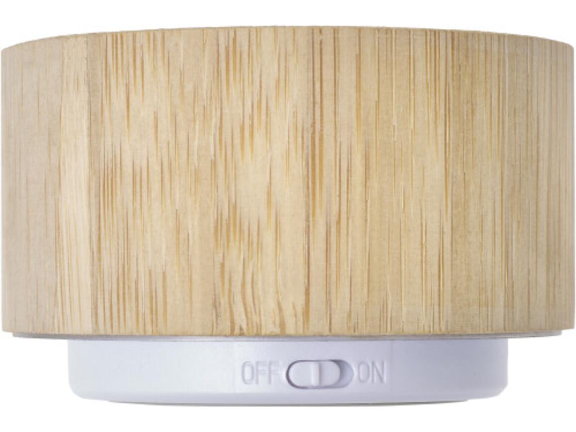 Wireless Lautsprecher 'Tokio' aus Kunststoff – Braun bedrucken, Art.-Nr. 011999999_8918