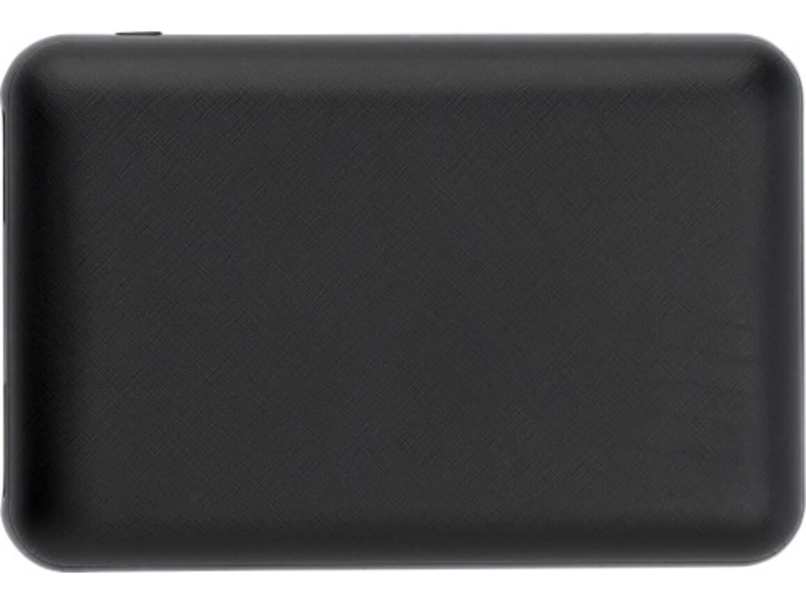 Powerbank 'Alto' aus Kunststoff – Schwarz bedrucken, Art.-Nr. 001999999_9058
