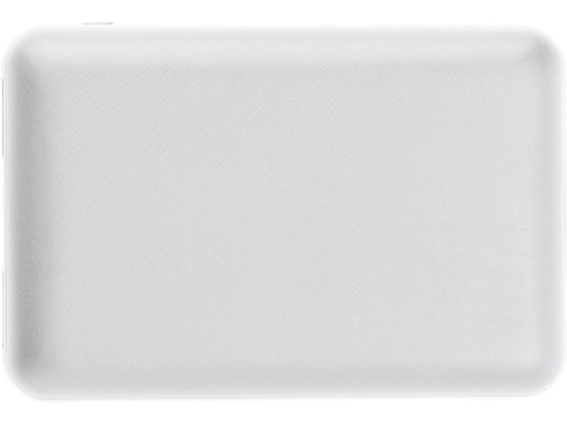 Powerbank 'Alto' aus Kunststoff – Weiß bedrucken, Art.-Nr. 002999999_9058
