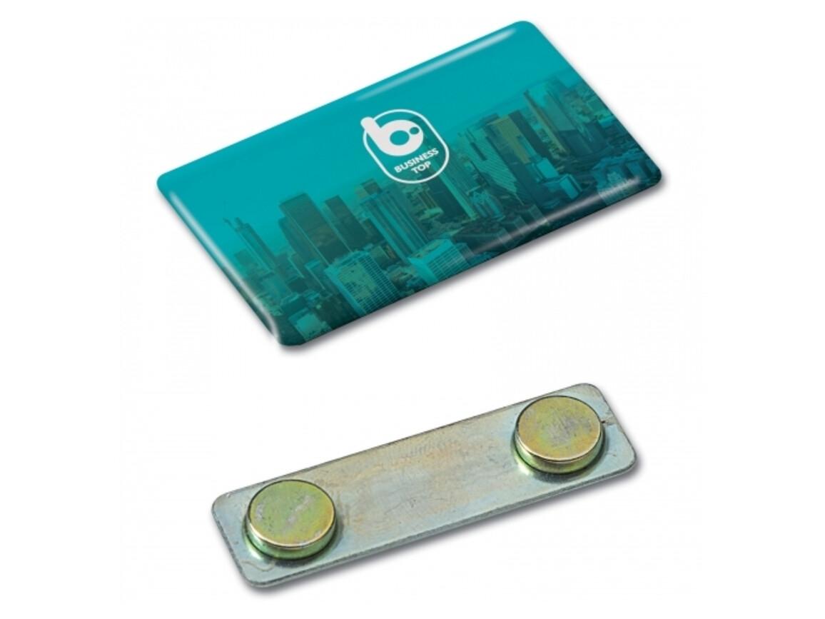 Namensschild mit Magnet - Full Colour bedrucken, Art.-Nr. LT99892-N0995
