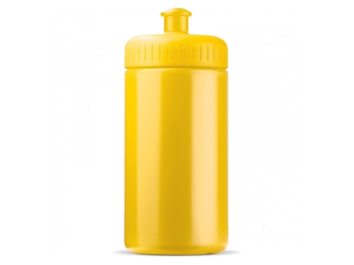 Sportflasche classic 500ml - Gelb bedrucken, Art.-Nr. LT98795-N0041