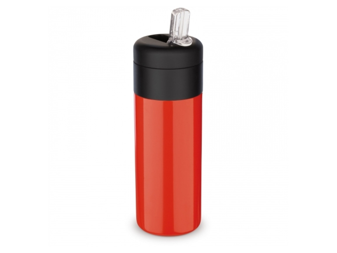 Flow Thermotrinkflasche 400ml - Rot bedrucken, Art.-Nr. LT98843-N0021