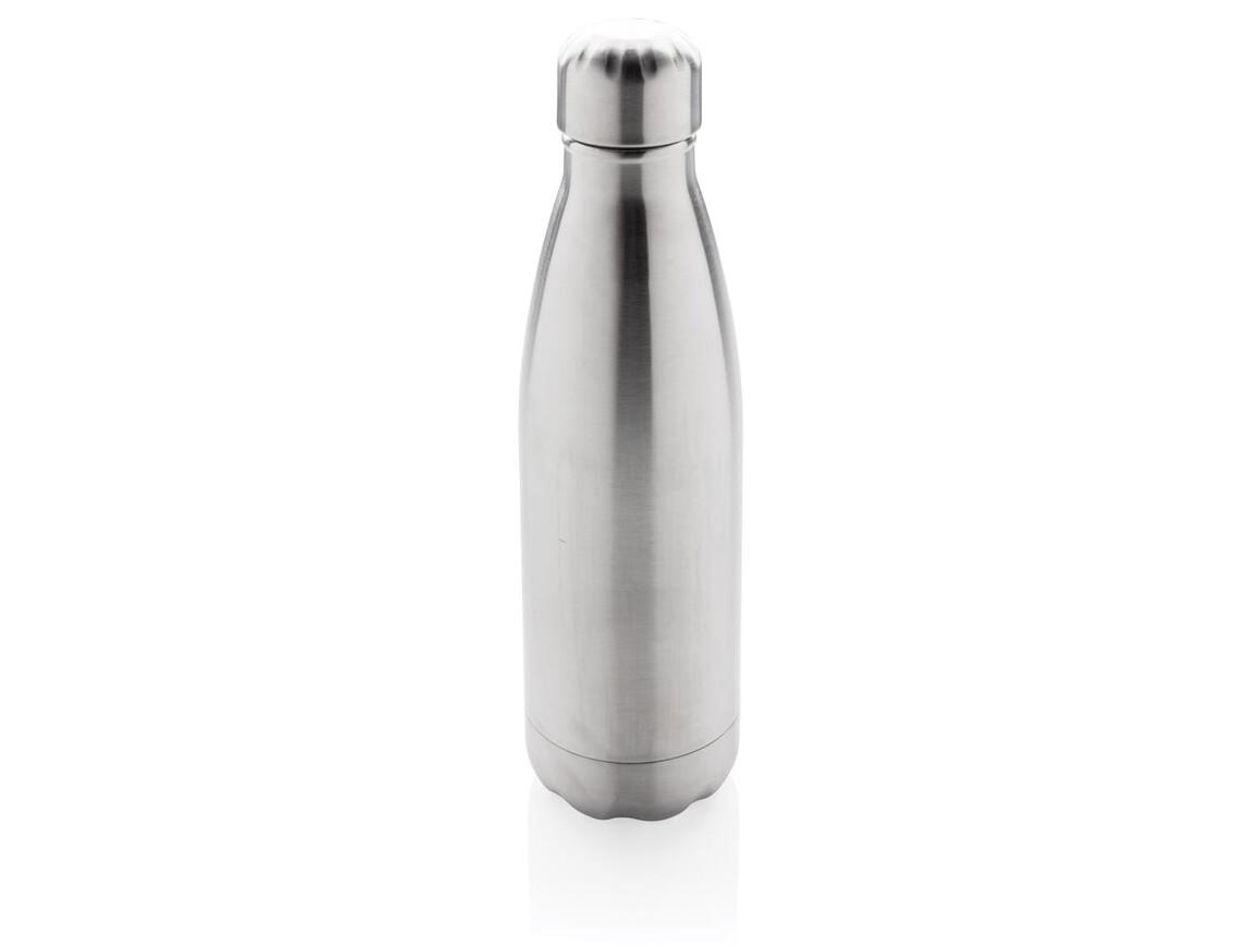 Vakuumisolierte Stainless Steel Flasche silber bedrucken, Art.-Nr. P436.492