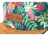 Allover Print Snapback Cap - inkl. Lederpatch bedrucken, Art.-Nr. L6003