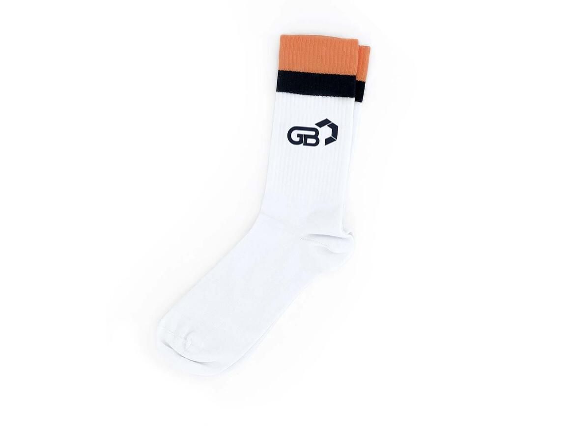 Retro Tennis Socken - individuelles Design bedrucken, Art.-Nr. L8009
