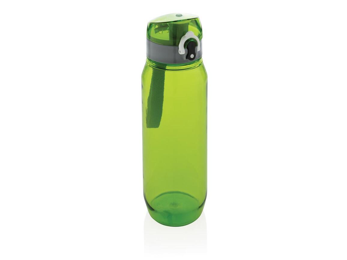 Tritan Flasche XL 800ml grün, grau bedrucken, Art.-Nr. P436.027