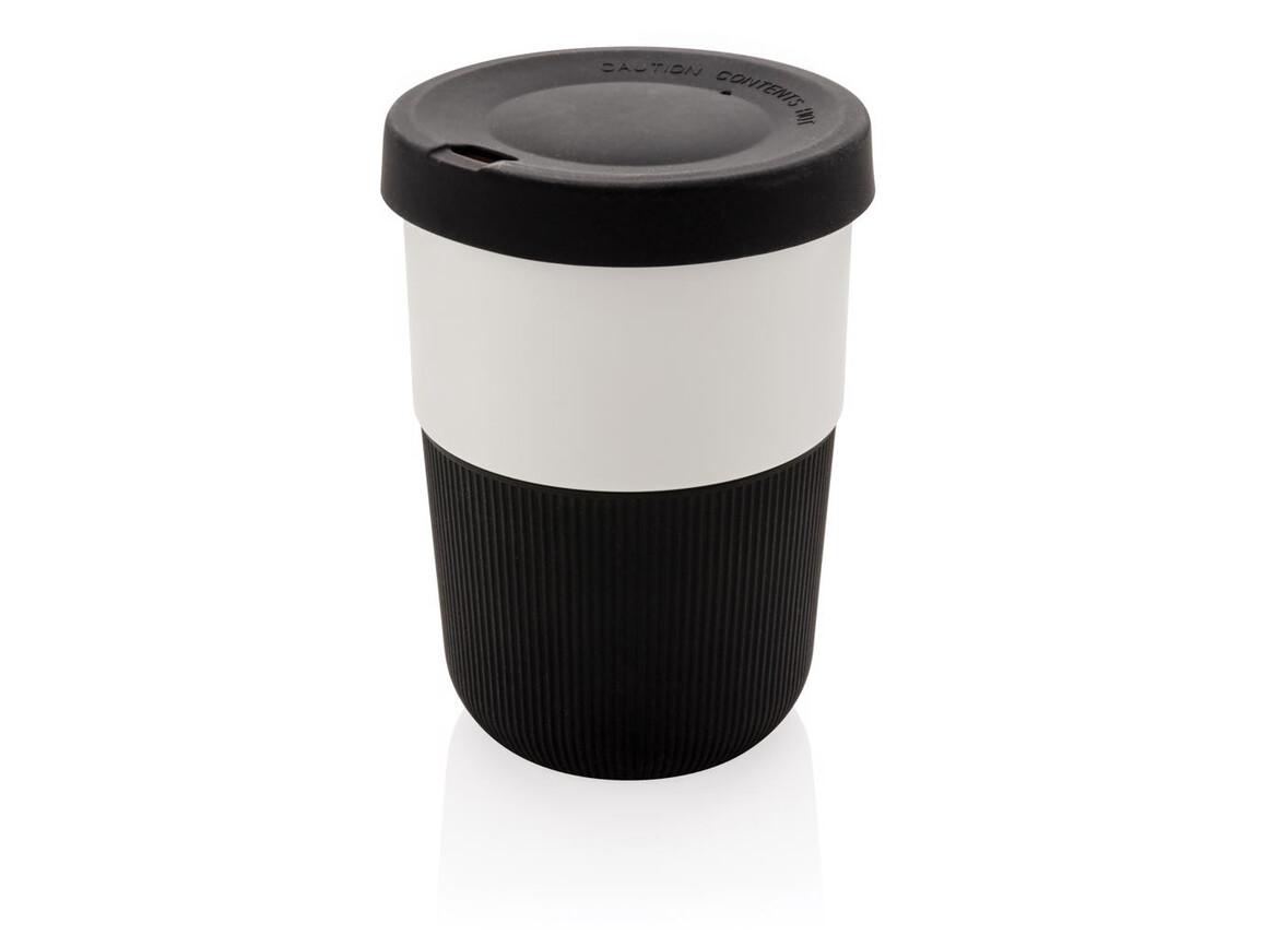 PLA Cup Coffee-To-Go 380ml schwarz bedrucken, Art.-Nr. P432.831