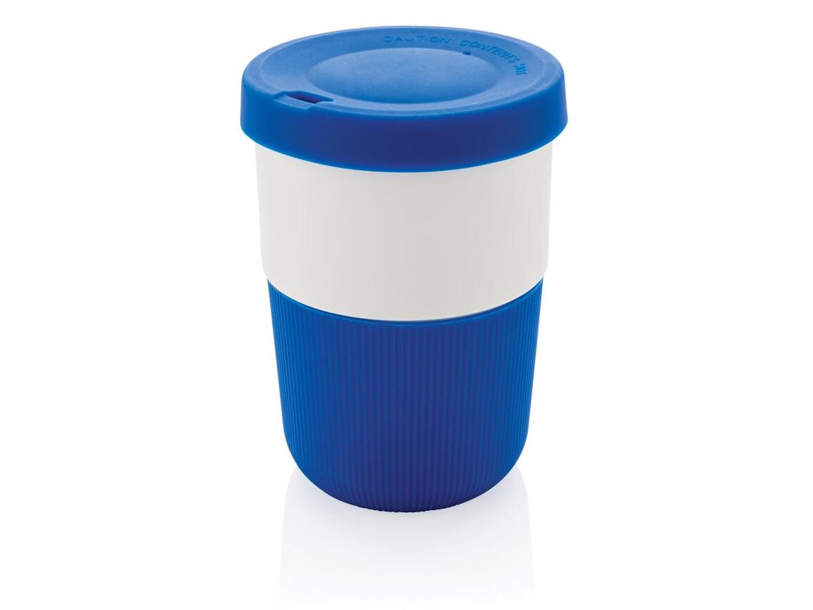 PLA Cup Coffee-To-Go 380ml blau bedrucken, Art.-Nr. P432.835