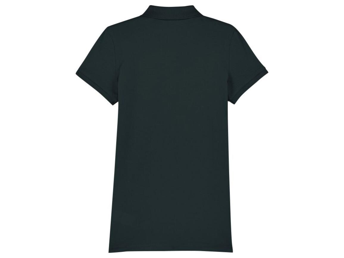 Damen Poloshirt - Black - S bedrucken, Art.-Nr. STPW034C0021S