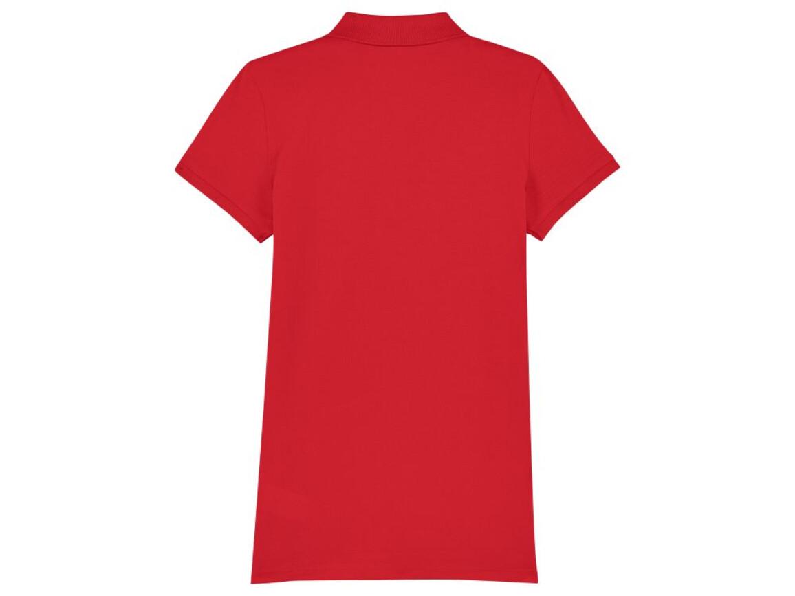 Damen Poloshirt - Red - M bedrucken, Art.-Nr. STPW034C0041M