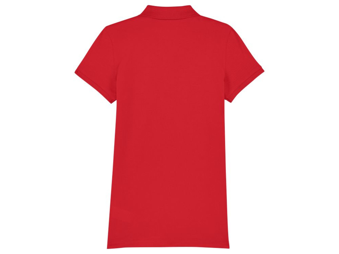 Damen Poloshirt - Red - S bedrucken, Art.-Nr. STPW034C0041S