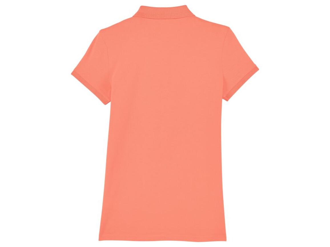 Damen Poloshirt - Sunset Orange - M bedrucken, Art.-Nr. STPW034C0251M