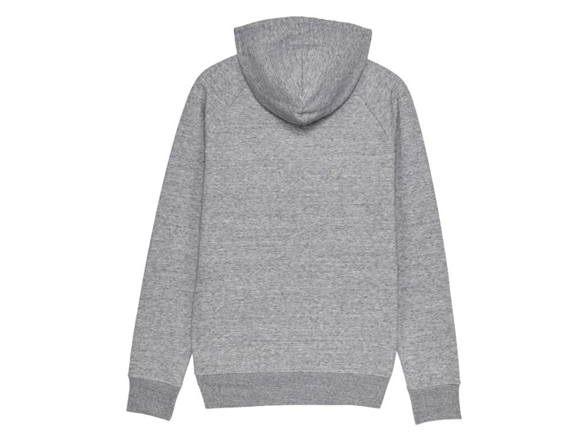 Iconic Herren Hoodie - Slub Heather Grey - XL bedrucken, Art.-Nr. STSM565C6711X