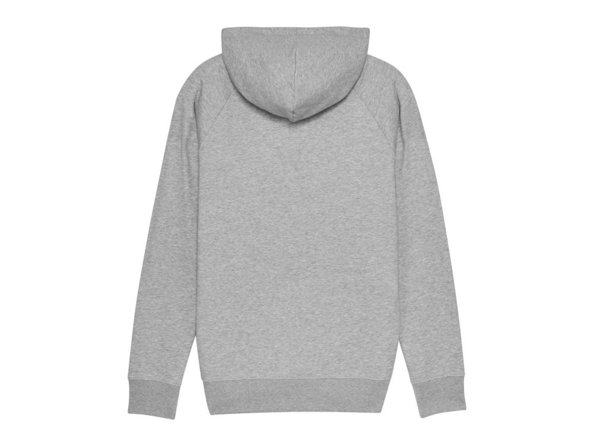 Iconic Herren Hoodie - Heather Grey - L bedrucken, Art.-Nr. STSM565C2501L
