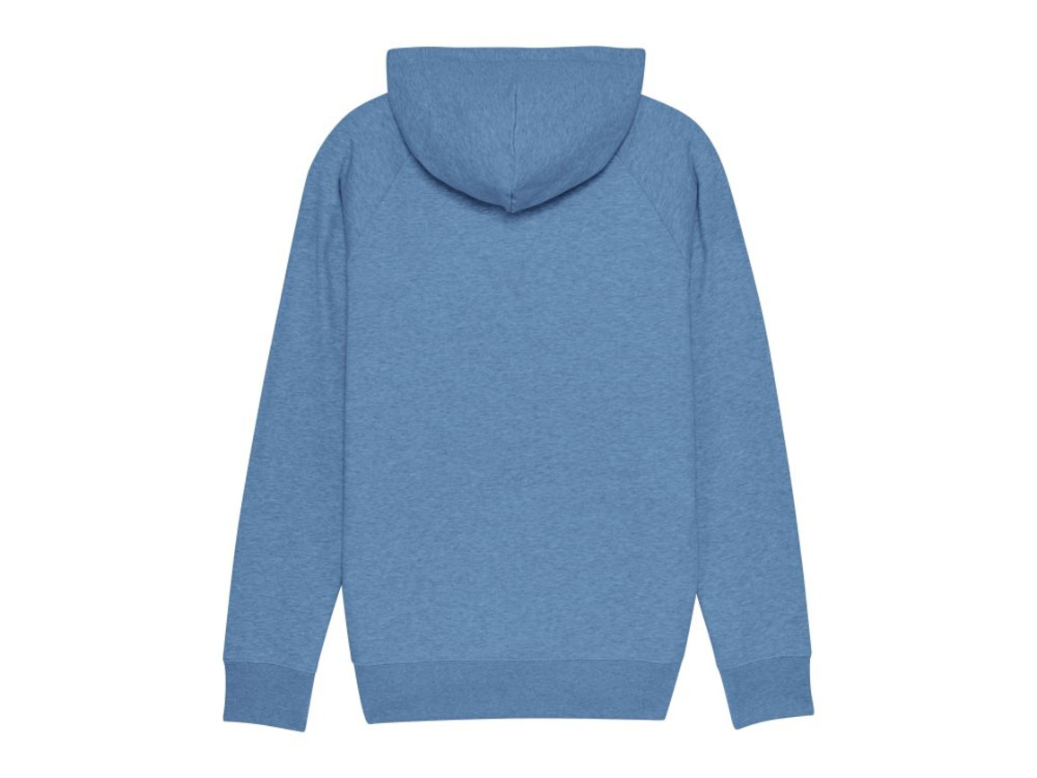 Iconic Herren Hoodie - Mid Heather Blue - S bedrucken, Art.-Nr. STSM565C6531S