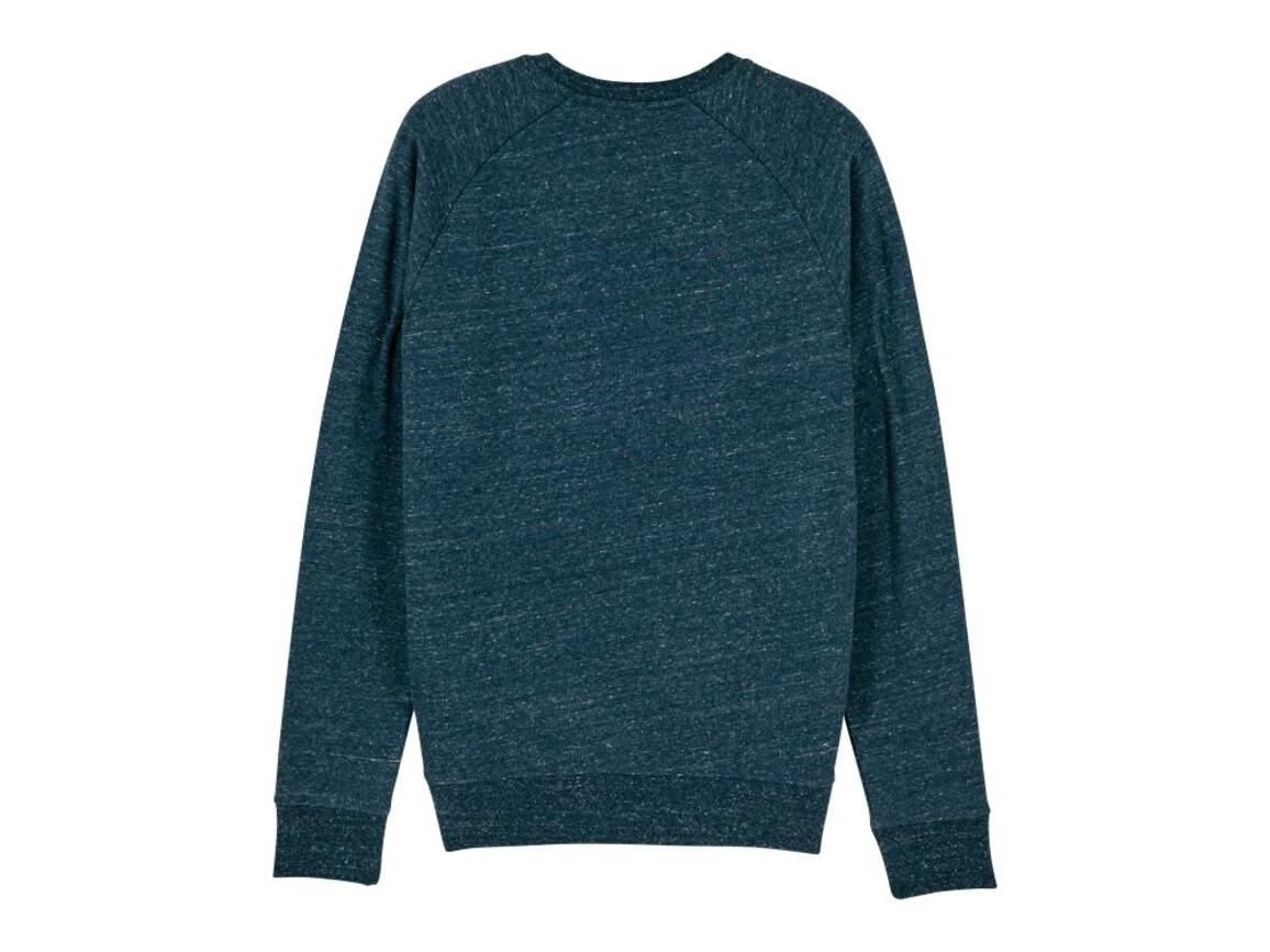 Iconic Herren Rundhals-Sweatshirt - Dark Heather Denim - XXL bedrucken, Art.-Nr. STSM567C6702X