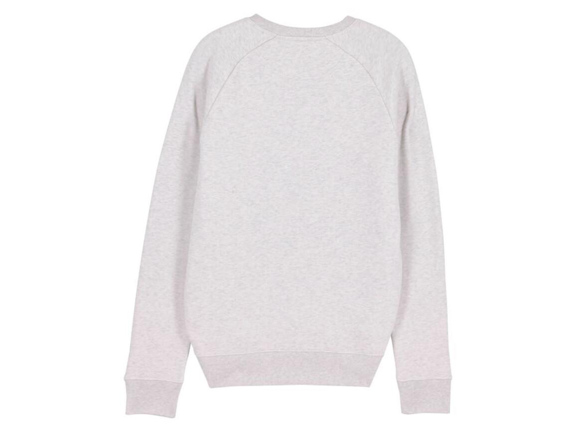 Iconic Herren Rundhals-Sweatshirt - Cream Heather Grey - XL bedrucken, Art.-Nr. STSM567C6801X