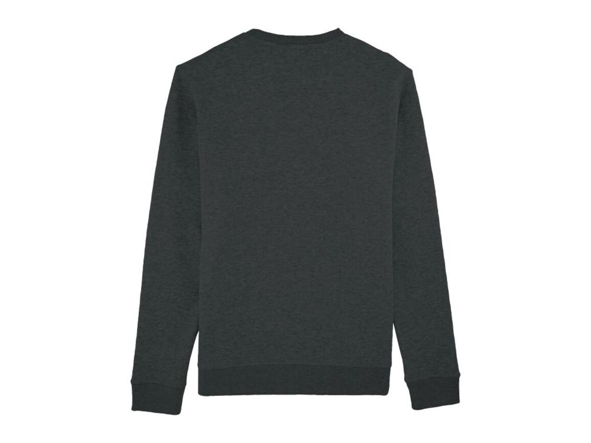 Unisex Schlichtes Rundhals-Sweatshirt - Dark Heather Grey - S bedrucken, Art.-Nr. STSU811C6511S