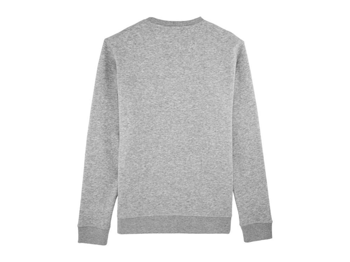 Unisex Schlichtes Rundhals-Sweatshirt - Heather Grey - M bedrucken, Art.-Nr. STSU811C2501M