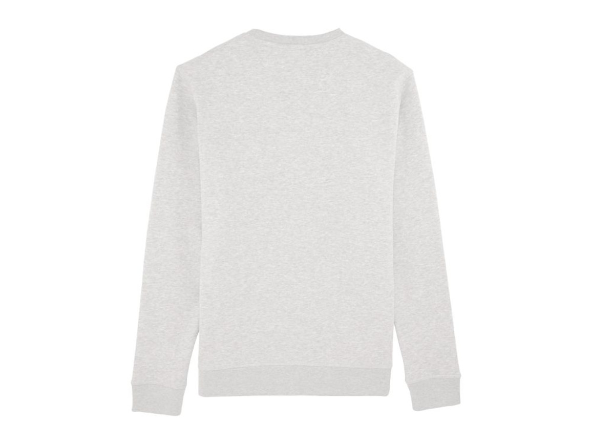 Unisex Schlichtes Rundhals-Sweatshirt - Cream Heather Grey - L bedrucken, Art.-Nr. STSU811C6801L