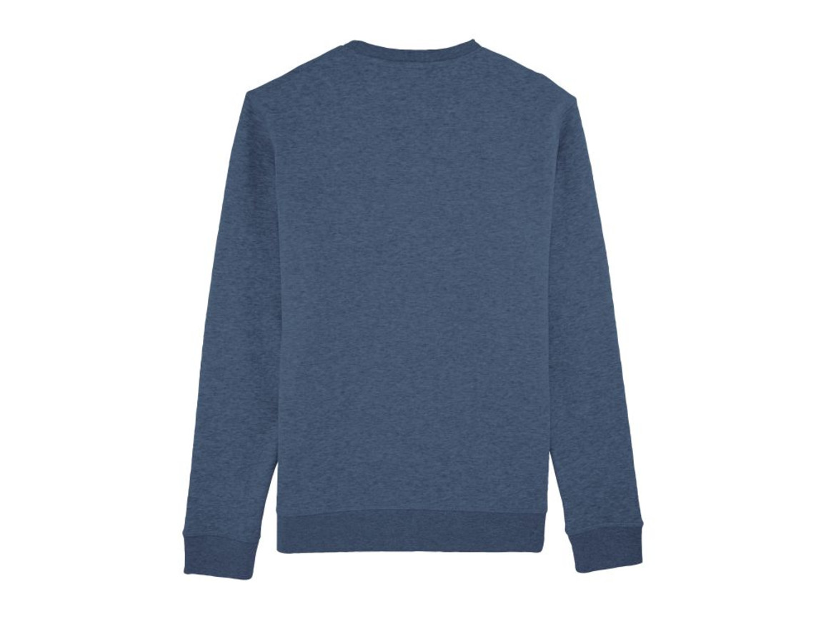 Unisex Schlichtes Rundhals-Sweatshirt - Dark Heather Blue - XXL bedrucken, Art.-Nr. STSU811C6522X