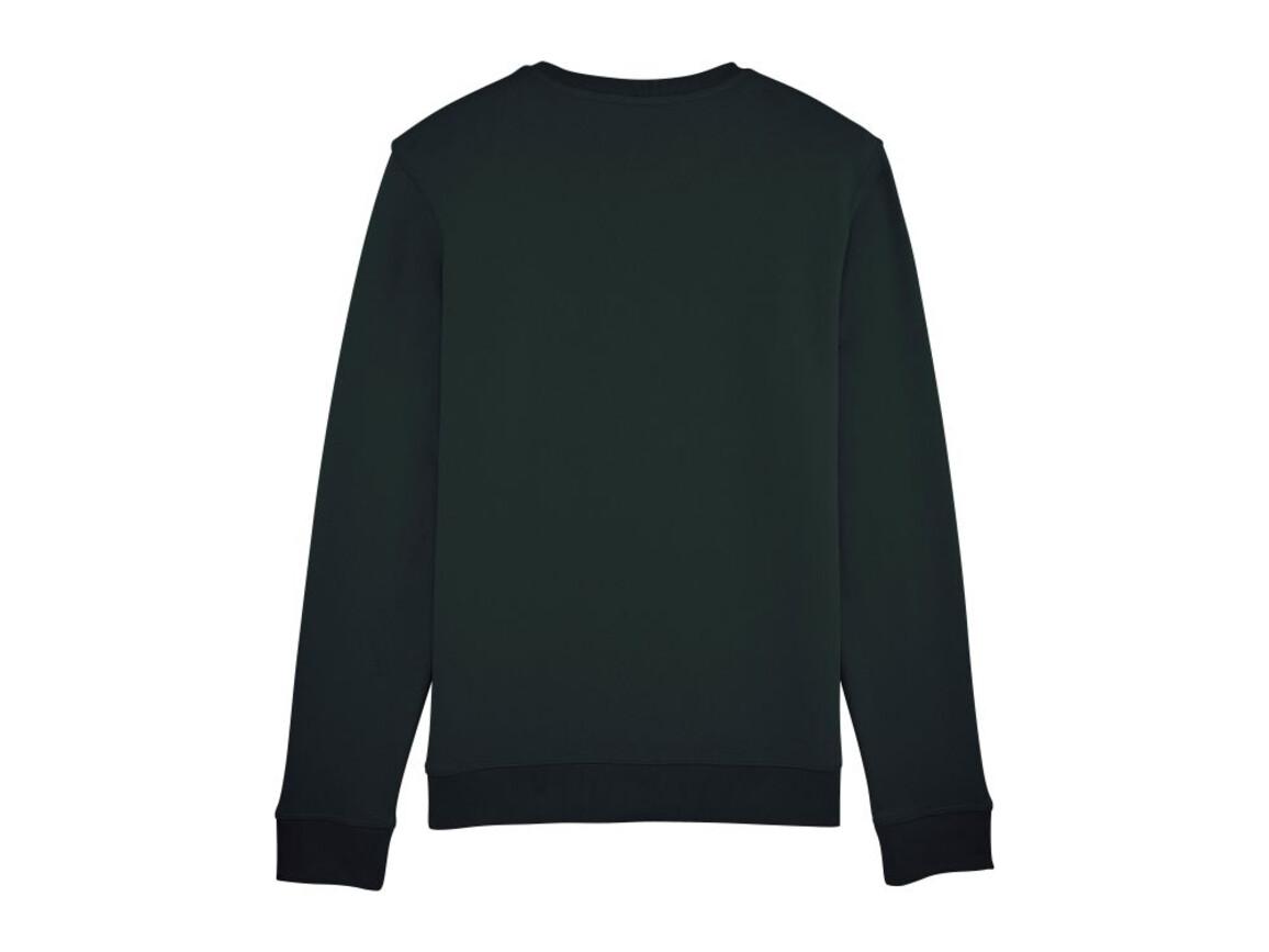 Unisex Schlichtes Rundhals-Sweatshirt - Black - M bedrucken, Art.-Nr. STSU811C0021M