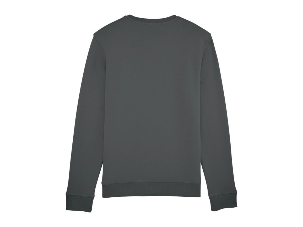 Unisex Schlichtes Rundhals-Sweatshirt - Anthracite - M bedrucken, Art.-Nr. STSU811C2531M