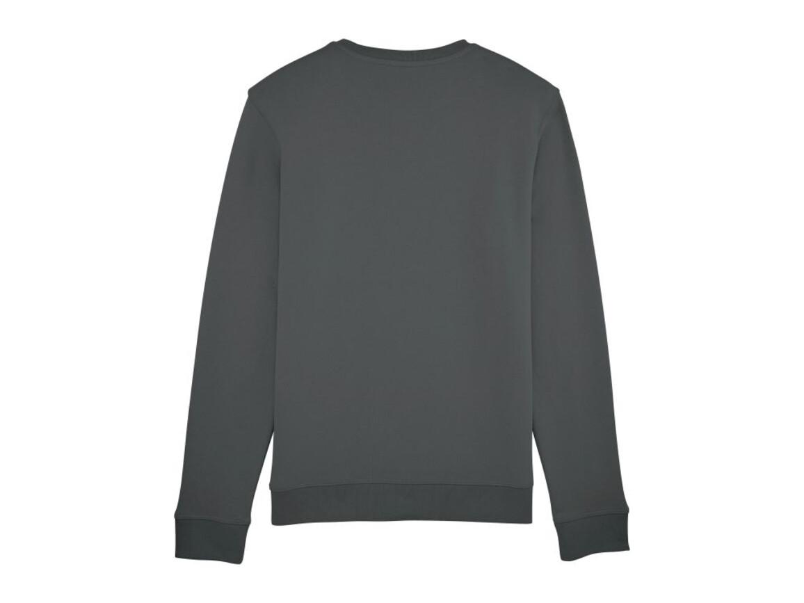 Unisex Schlichtes Rundhals-Sweatshirt - Anthracite - S bedrucken, Art.-Nr. STSU811C2531S