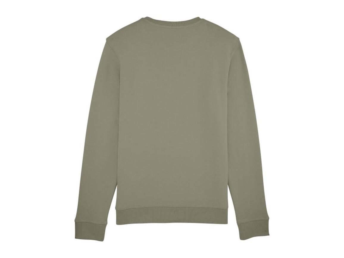 Unisex Schlichtes Rundhals-Sweatshirt - Light Khaki - XL bedrucken, Art.-Nr. STSU811C7041X