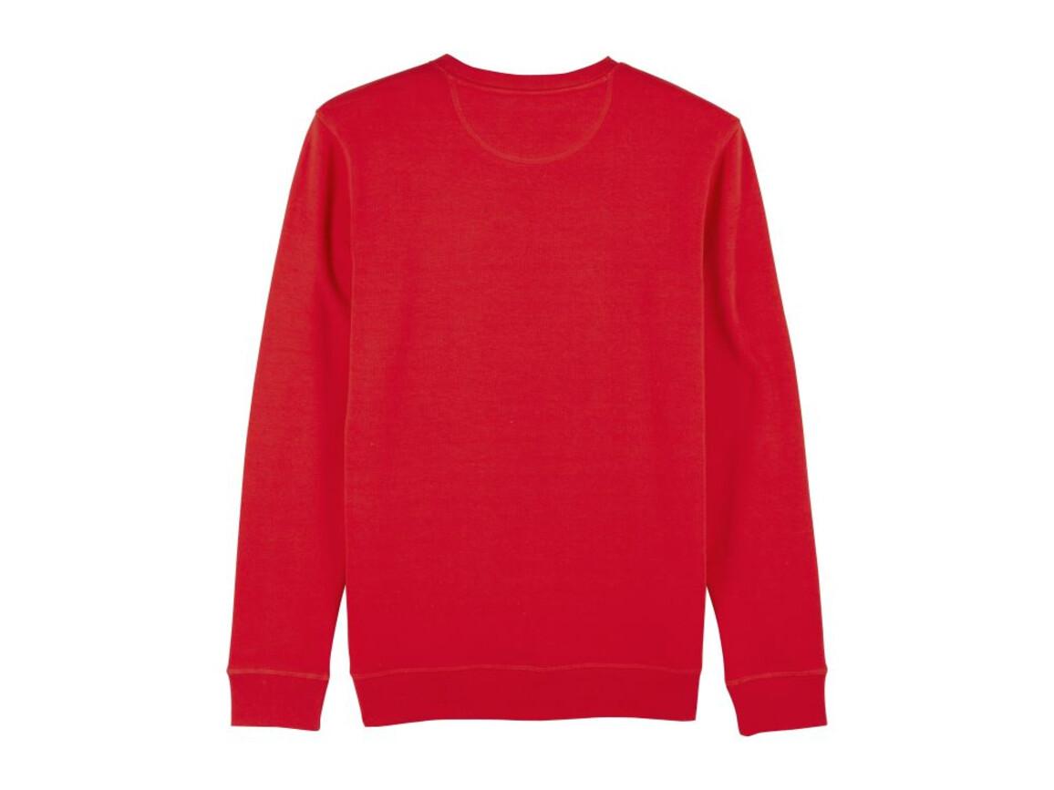 Unisex Schlichtes Rundhals-Sweatshirt - Red - L bedrucken, Art.-Nr. STSU811C0041L