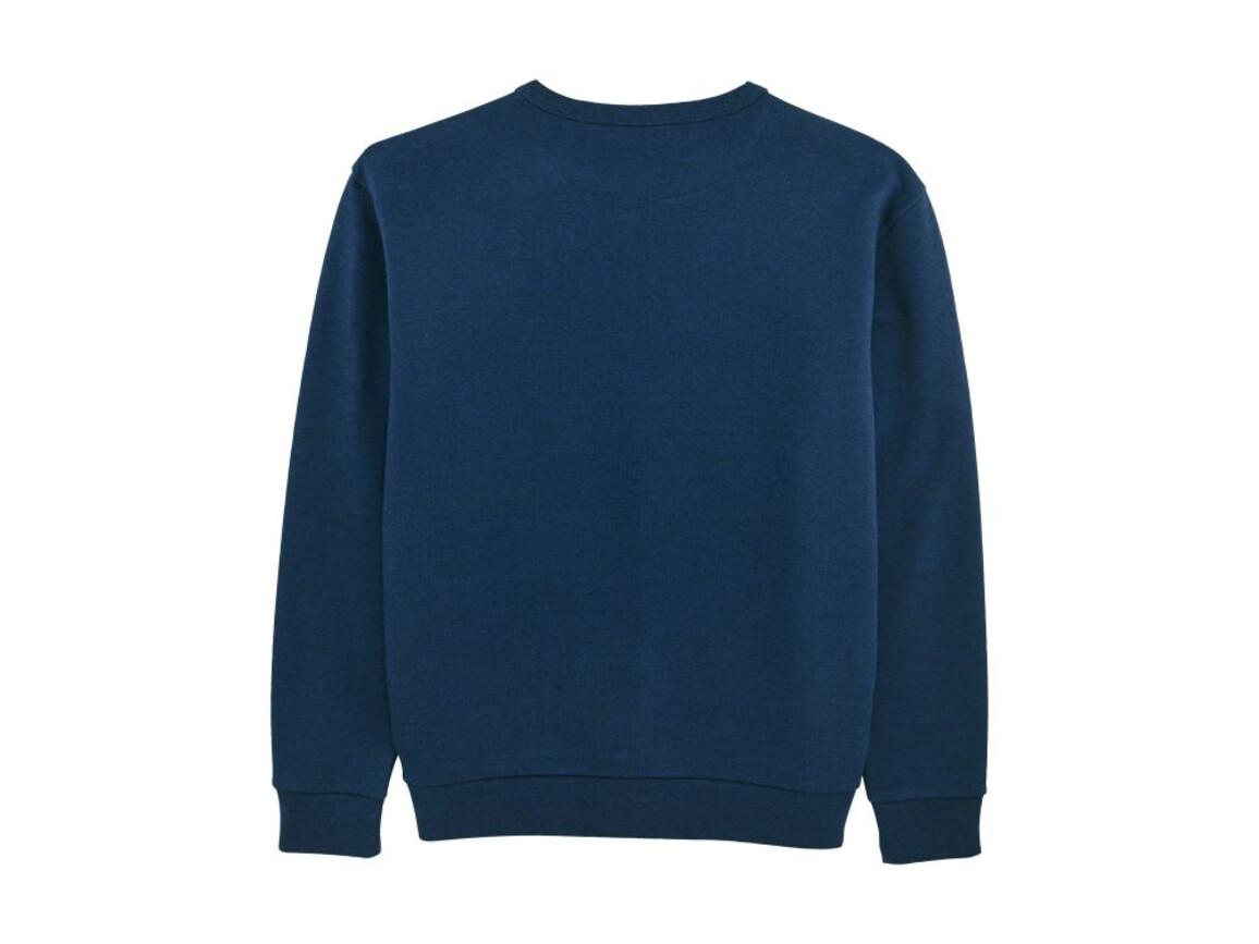 Unisex Rundhals-Sweatshirt mit abfallenden Schultern - Black Heather Blue - XXL bedrucken, Art.-Nr. STSU816C5882X