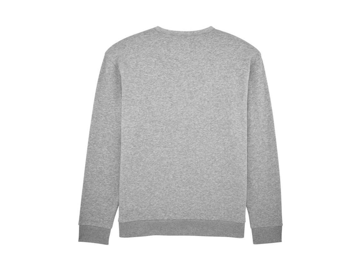 Unisex Rundhals-Sweatshirt mit abfallenden Schultern - Heather Grey - S bedrucken, Art.-Nr. STSU816C2501S