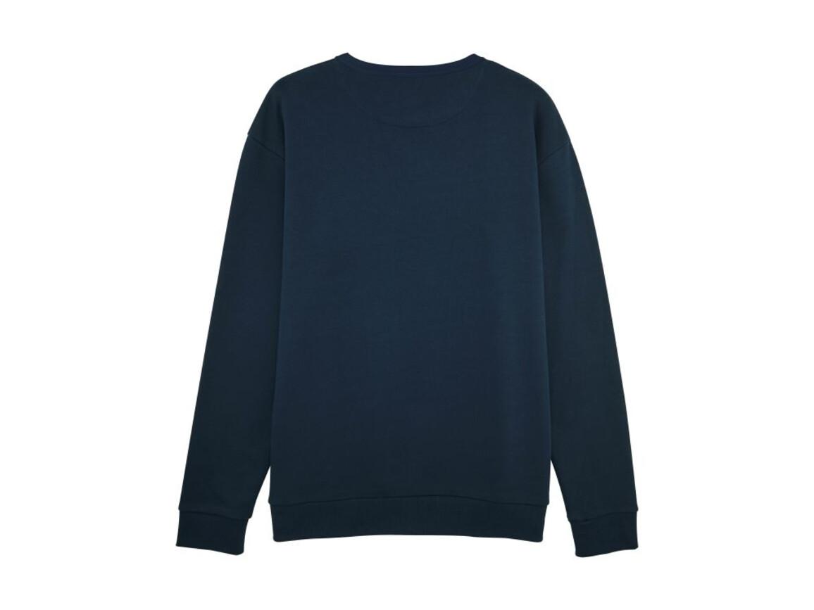 Unisex Rundhals-Sweatshirt mit abfallenden Schultern - French Navy - M bedrucken, Art.-Nr. STSU816C7271M