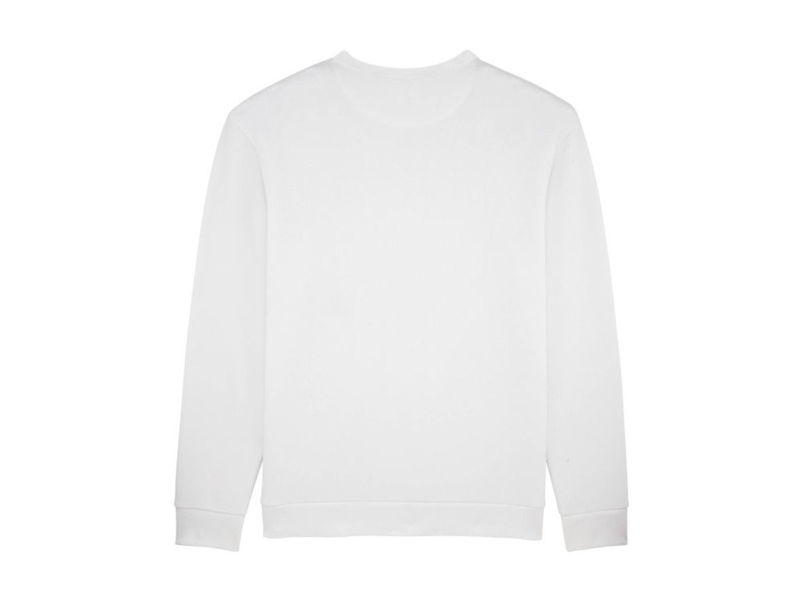 Unisex Rundhals-Sweatshirt mit abfallenden Schultern - White - S bedrucken, Art.-Nr. STSU816C0011S