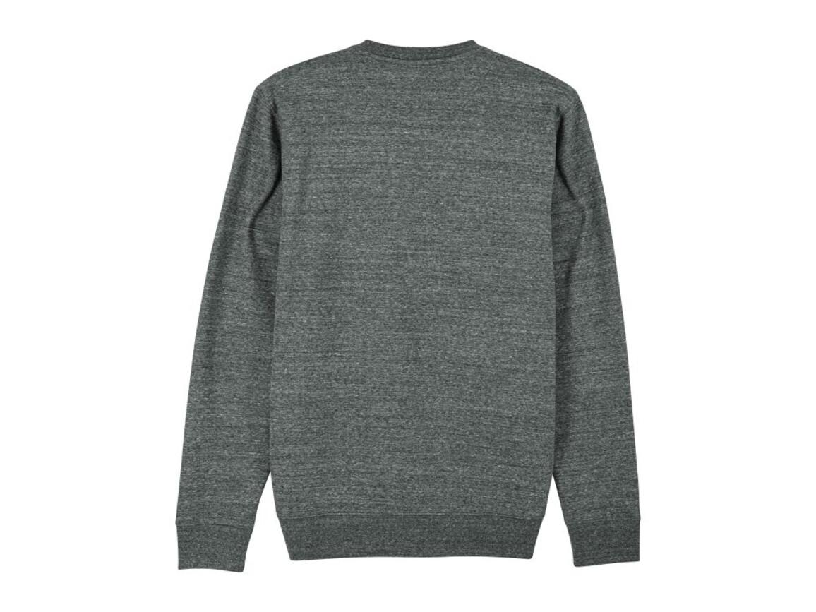 Iconic Unisex Rundhals-Sweatshirt - Slub Heather Steel Grey - XL bedrucken, Art.-Nr. STSU823C6731X
