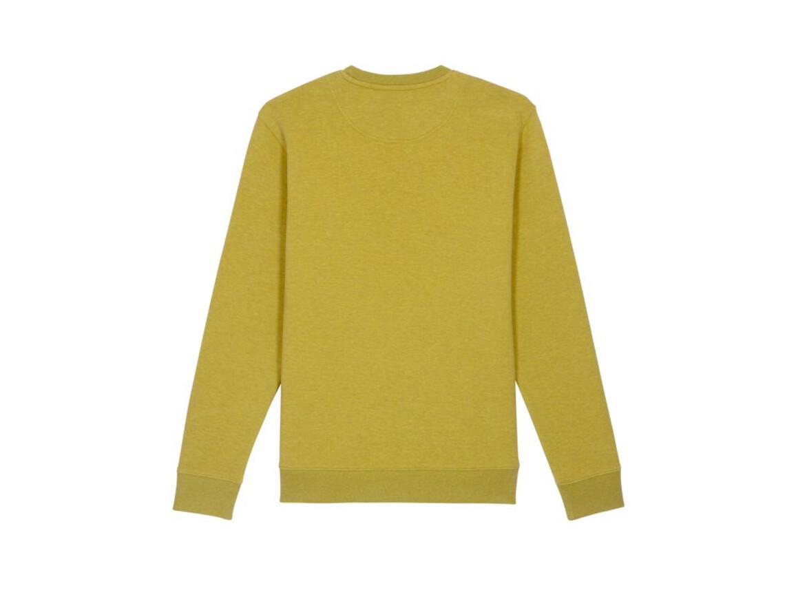 Iconic Unisex Rundhals-Sweatshirt - Heather Neppy Lemon Grass - S bedrucken, Art.-Nr. STSU823C6991S