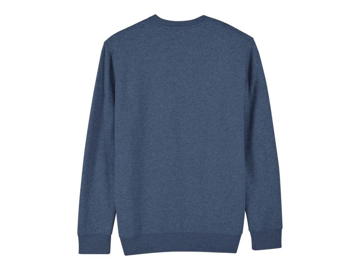 Iconic Unisex Rundhals-Sweatshirt - Dark Heather Blue - XS bedrucken, Art.-Nr. STSU823C652XS