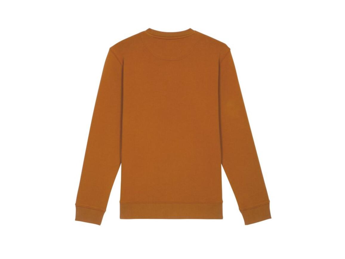 Iconic Unisex Rundhals-Sweatshirt - Roasted Orange - S bedrucken, Art.-Nr. STSU823C0311S