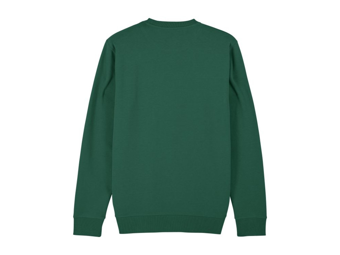 Iconic Unisex Rundhals-Sweatshirt - Bottle Green - XXL bedrucken, Art.-Nr. STSU823C2242X