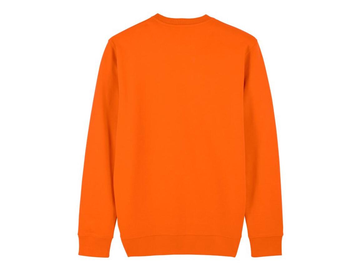Iconic Unisex Rundhals-Sweatshirt - Bright Orange - XL bedrucken, Art.-Nr. STSU823C0131X