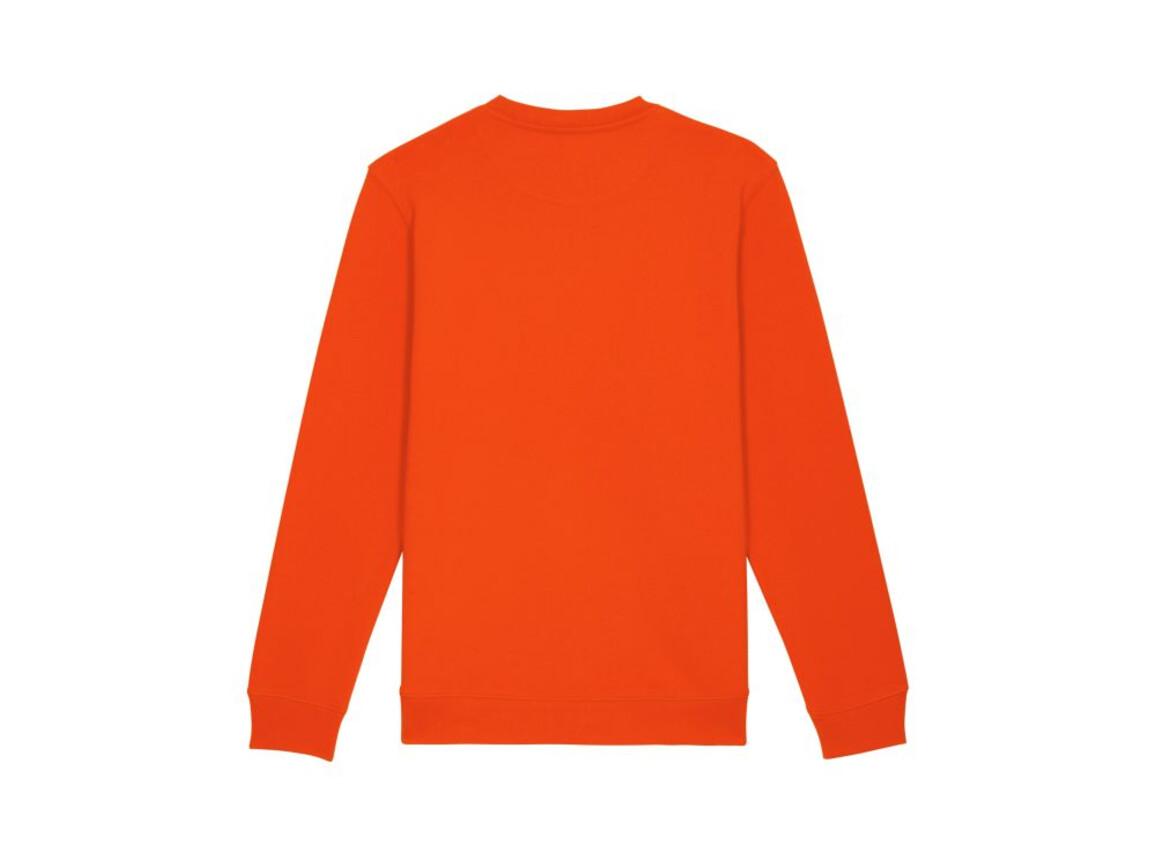 Iconic Unisex Rundhals-Sweatshirt - Tangerine - M bedrucken, Art.-Nr. STSU823C0321M