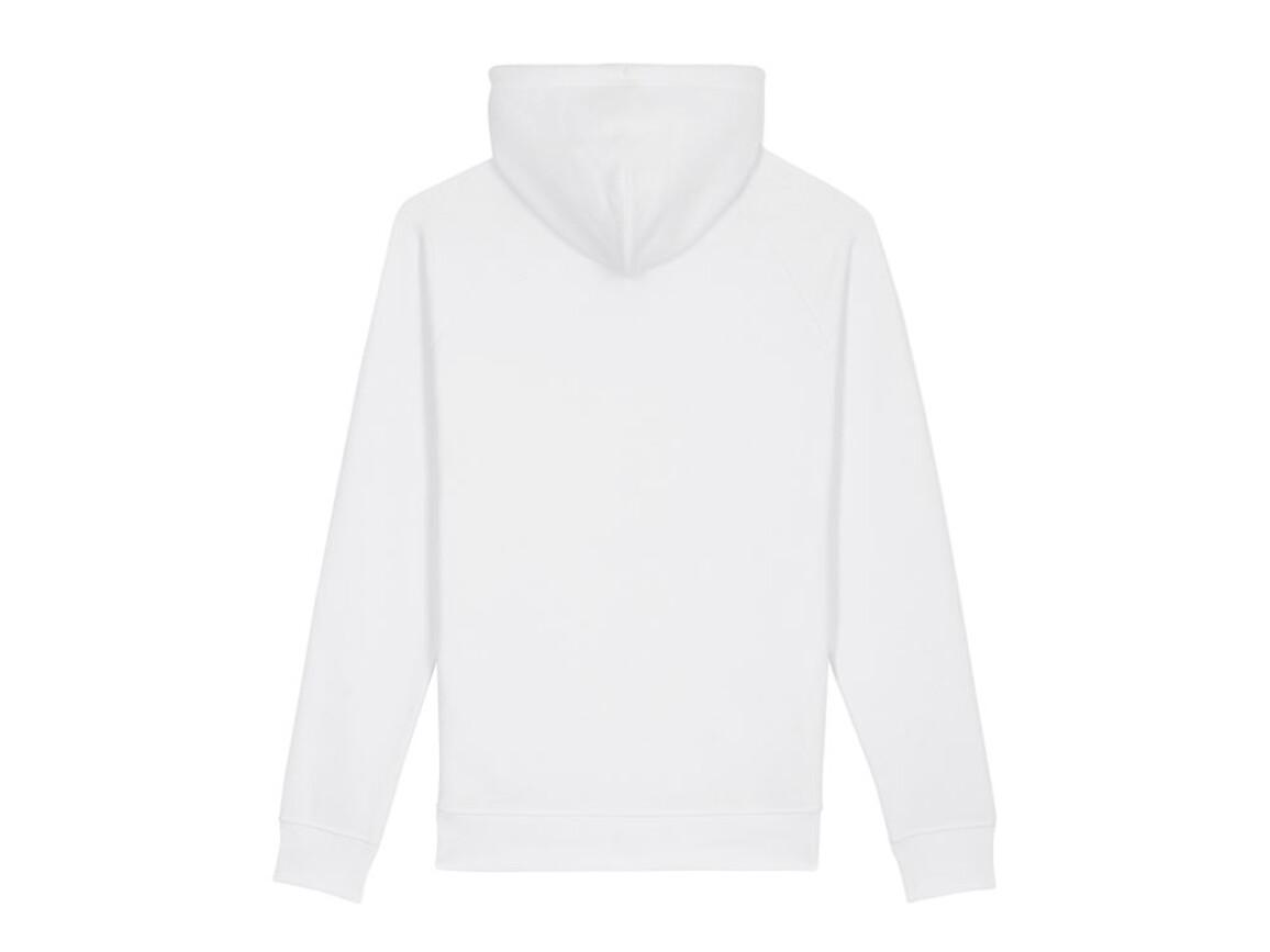 Unisex Kapuzensweat mit Seitentaschen - White - L bedrucken, Art.-Nr. STSU824C0011L