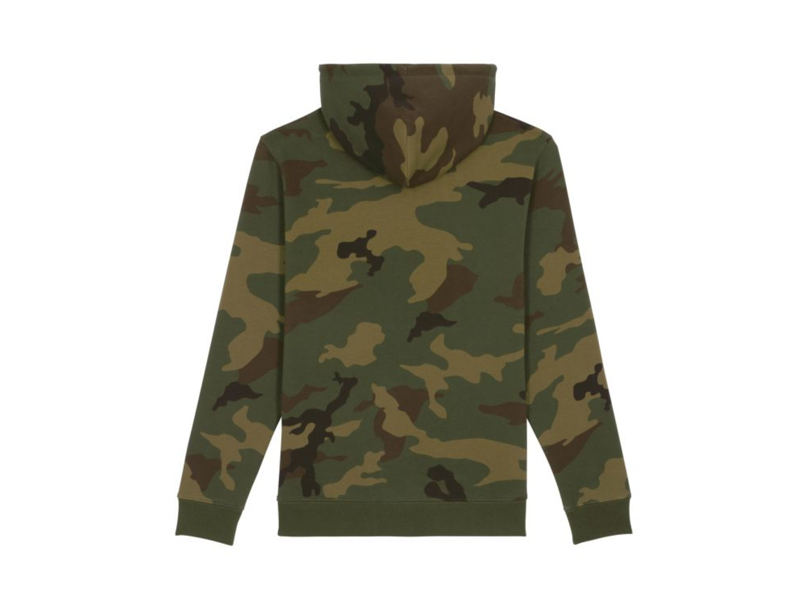 Unisex batik Sweatshirt mit Rundhalsausschnitt - Camouflage - XL bedrucken, Art.-Nr. STSU825C8051X