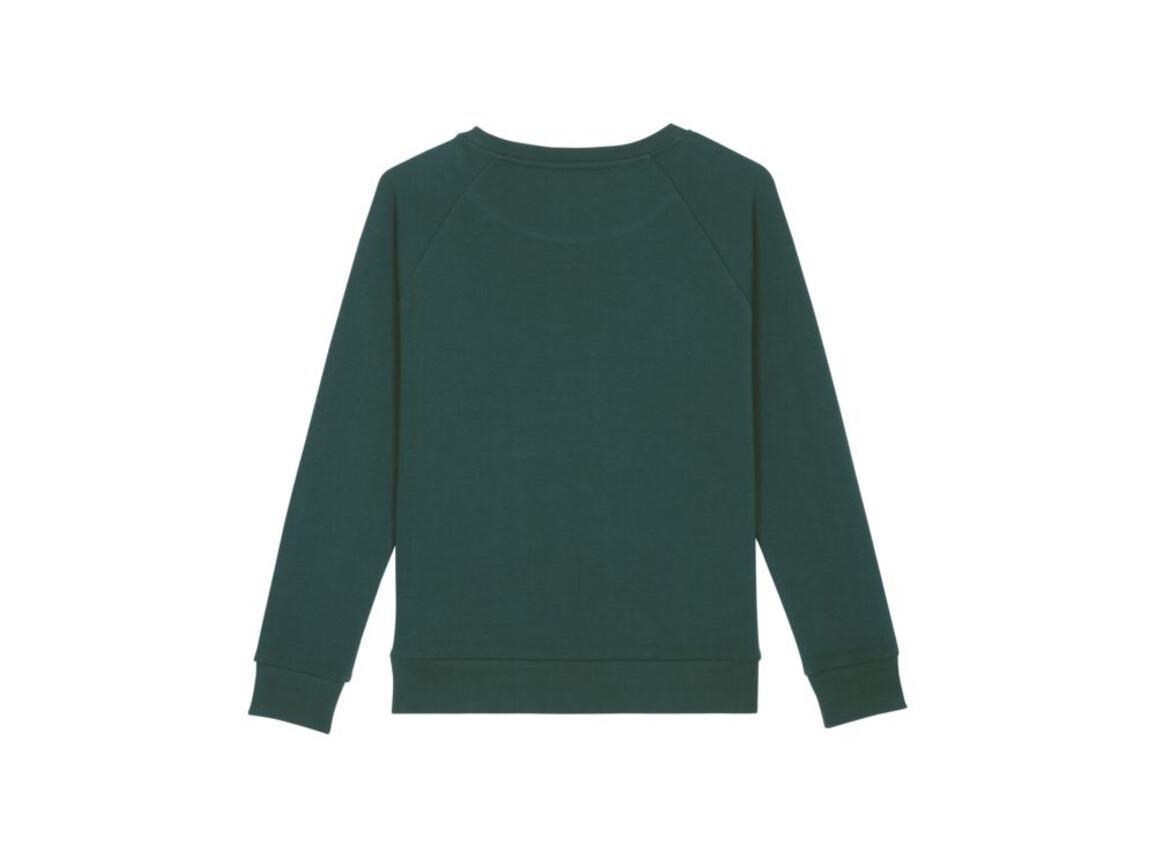 Locker sitzendes Damen Sweatshirt - Glazed Green - L bedrucken, Art.-Nr. STSW125C0361L