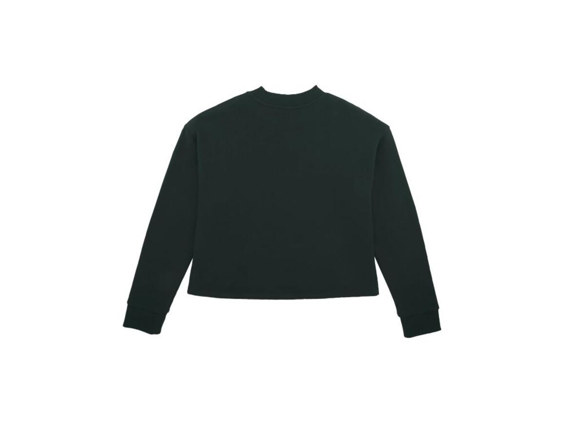 Damen Kurzes Sweatshirt - Black - L bedrucken, Art.-Nr. STSW135C0021L